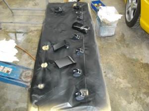 フェラーリ F355 内装修理塗装 浦和・岩槻の板金塗装なら株式会社エムクラフト