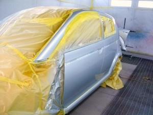 スバルR2板金塗装 浦和・岩槻の板金塗装なら株式会社エムクラフト