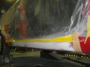 アルファロメオ 156TI 板金塗装 浦和・岩槻の板金塗装ならエムクラフト
