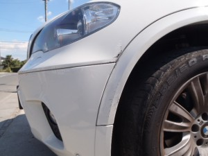 BMW X5 板金塗装