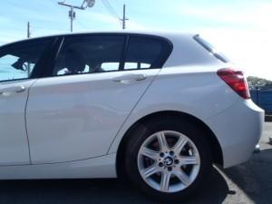 BMW 116i 板金塗装